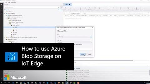 2c189d4d147 Thumbnail from How to use Azure Blob Storage on IoT Edge on YouTube