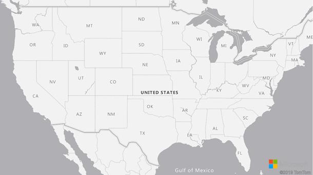 Mise à jour des frontières géographiques dans AzureMaps