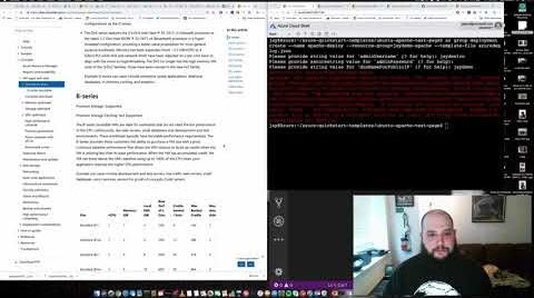 """Thumbnail from """"Hello World"""" from your CLI with Azure ARM Templates! on YouTube"""