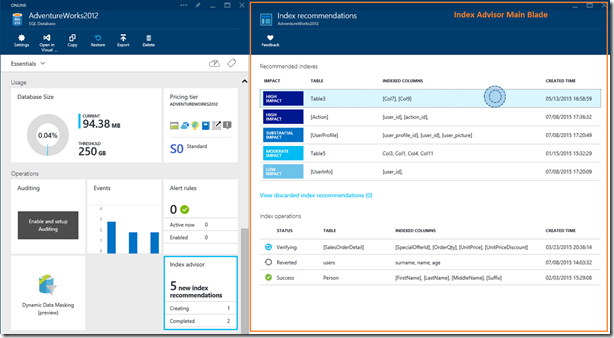 Improve the performance of your Azure SQL Databases using Index Advisor