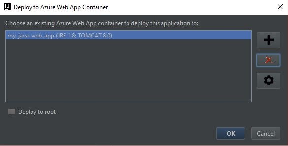 IntelliJ - Deploy Java Web Apps to Azure