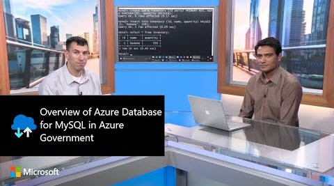 Thumbnail from Overview of Azure Database for MySQL in Azure Government | Azure Government