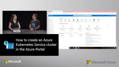 Thumbnail from How to create an Azure Kubernetes Service cluster in theAzure Portal by AzurePortal Series