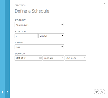 Scheduling Azure Automation Runbooks with Azure Scheduler
