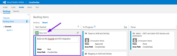 Start Automation Runbooks in Response to Events in Visual Studio Online