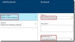 Create runbook 2