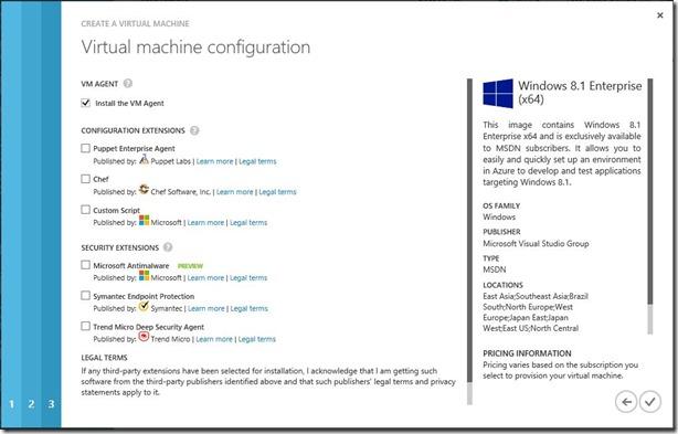 Create Windows Client VM Step 3