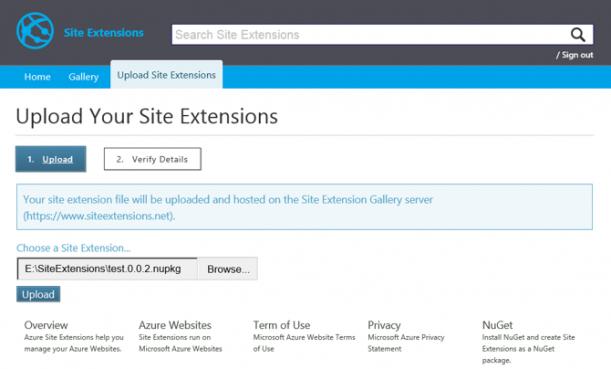 Daria Grigoriu - Daria Griguriu - Azure Web Sites Extensions - Img6
