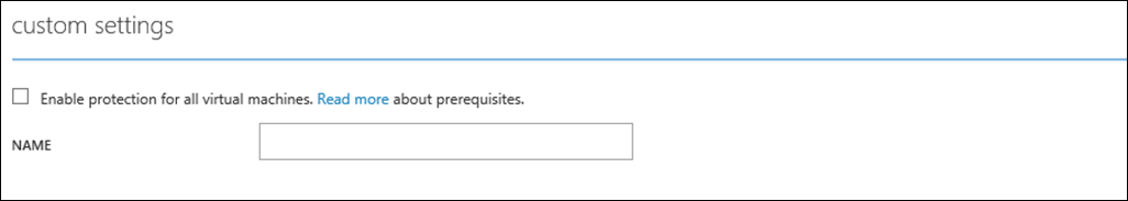 Enableprotection checkbox