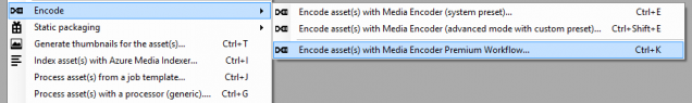 Encode with Premium Encoder