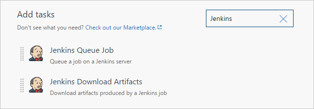 Add Jenkins build tasks