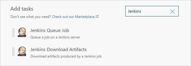 Add Jenkins build tasks