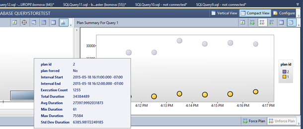 Query Store: A flight data recorder for your database