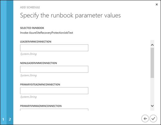 Runbookparameter
