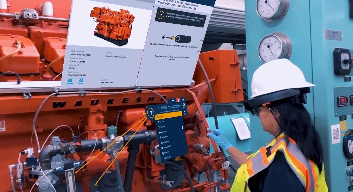 高度なロボット装置を操作する産業機械オペレーター