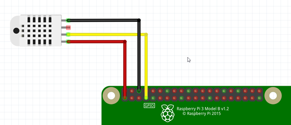Use jumper wires to connect your DHT22