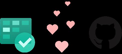 Azure Board and GitHub logos