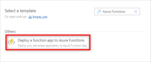 Deploying a function app to Azure Functions