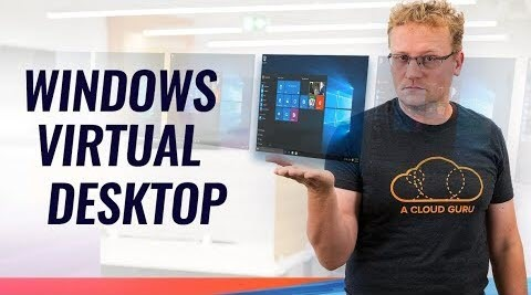 Thumbnail from Azure Windows Virtual Desktop in public preview and a big win for Cosmos DB