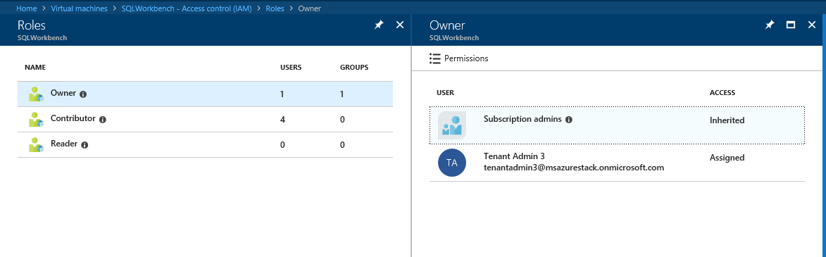 Role-based access control in Azure and Azure Stack