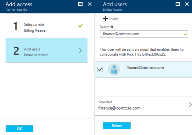 azure billing reader role and preview of invoice api | blog, Invoice templates
