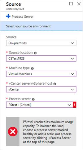 Critical Process Server