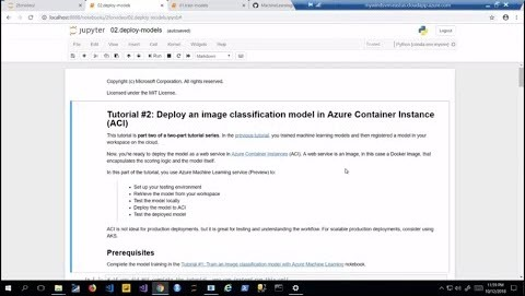 Thumbnail from How to deploy an image classification model using Azure services on YouTube