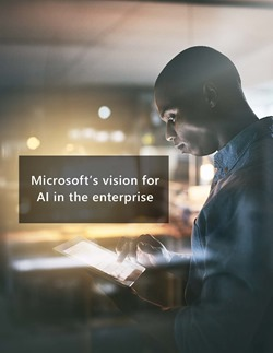 Cover of the Microsoft Enterprise AI white paper