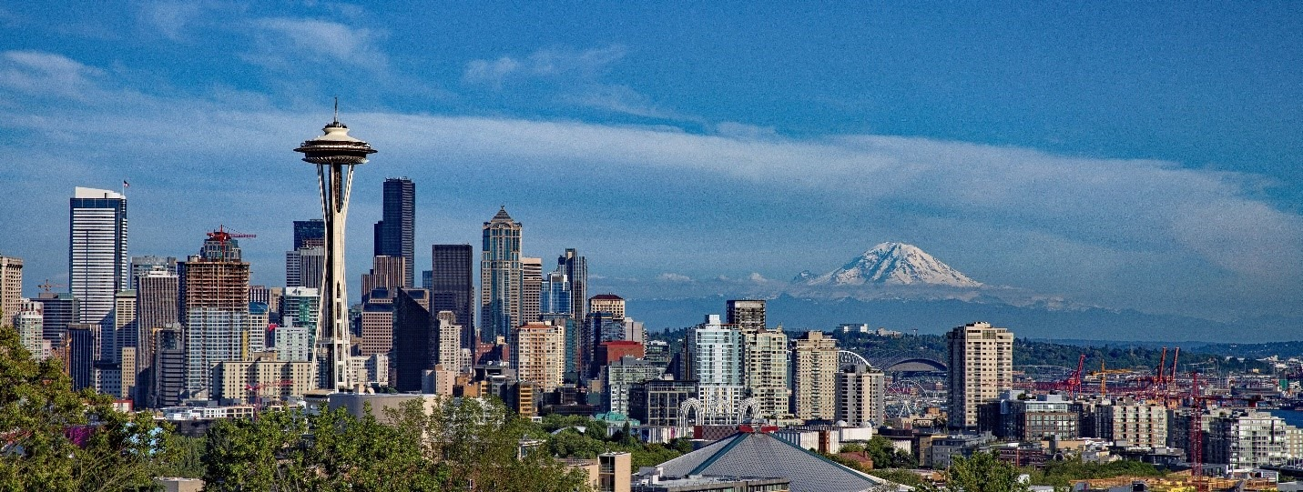 An image of the Seattle skyline.