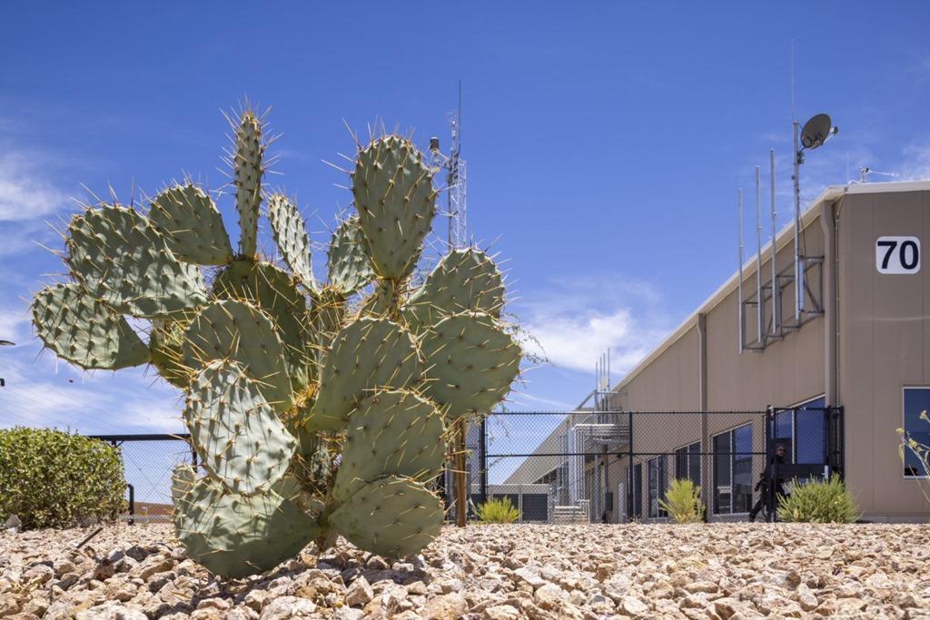 An image of the Arizona datacenter