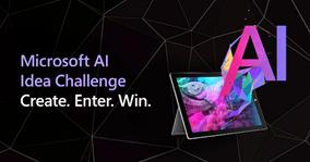 Microsoft AI Idea Challenge banner
