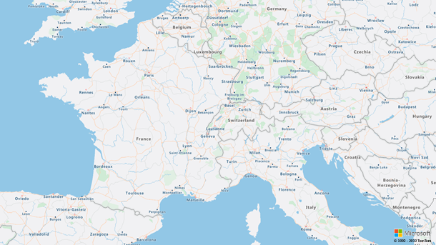 Data rending improvements on Azure Maps.