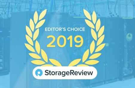 Image of Editor's choice 2019 StorageReview award