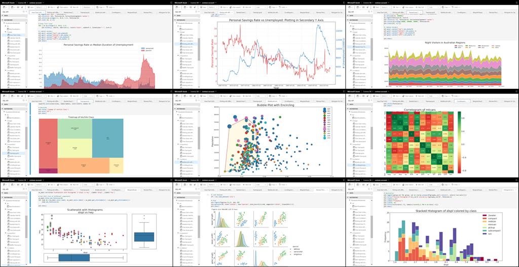 Présentation des notebooks Jupyter intégrés dans Azure Cosmos DB.