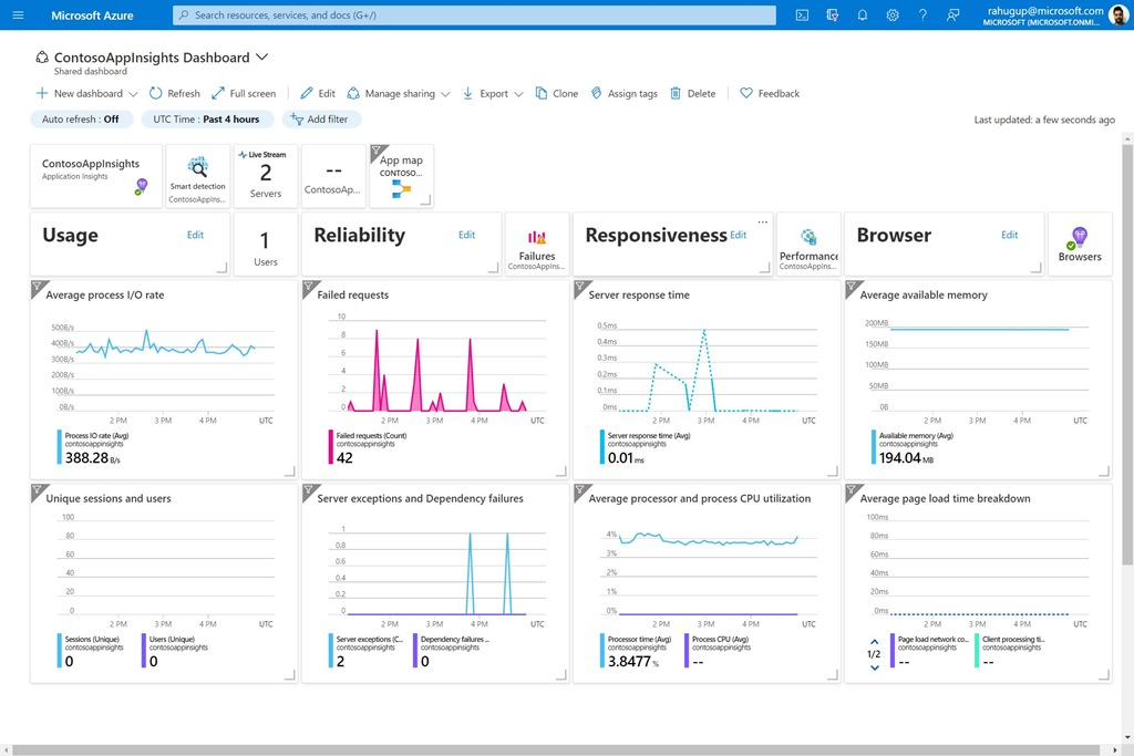 Automatically enable application monitoring with Azure Application Insights