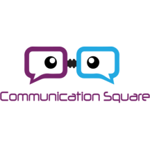 Communication square logo