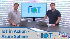 Screenshot from IoT In Action - Introducing Azure Sphere video