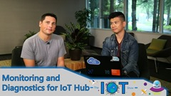 Screenshot from Monitoring And Diagnostics of an IoT Solution with Azure IoT Hub video