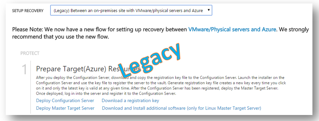 legacy VMware to Azure