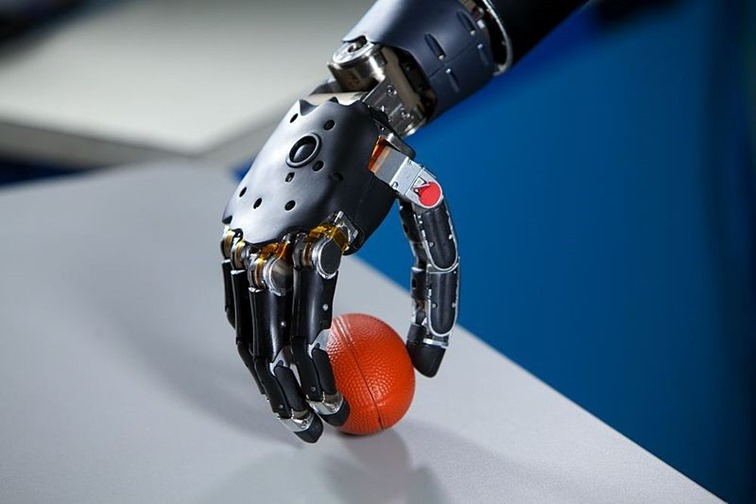 Neural interfacing research prosthetic arm
