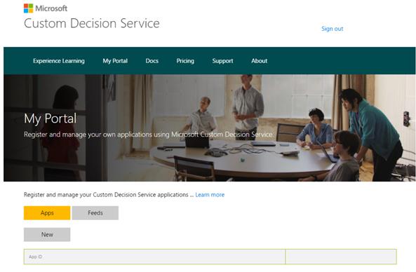 Custom Decision Service