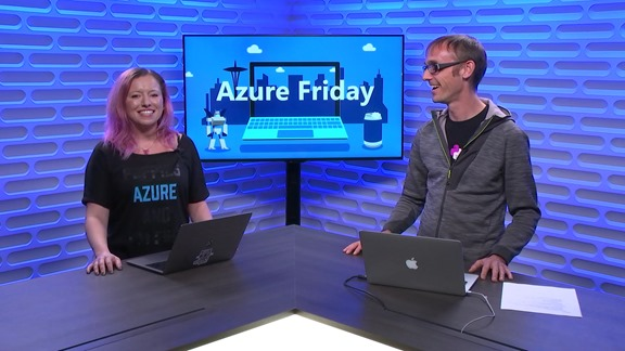 Thumbnail from the Python on Azure series from Azure Friday on YouTube