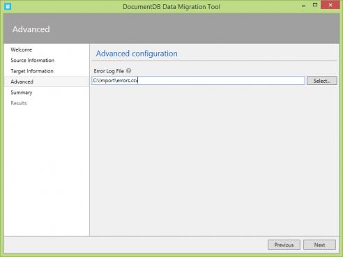 importadvancedconfiguration