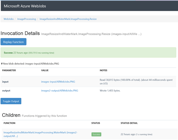 Azure WebJobs Beta