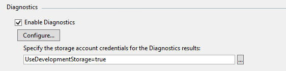 Diagnostics window
