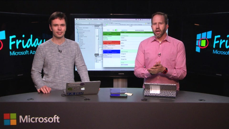 Azure App Service Mobile Apps with Kirill Gavrylyuk
