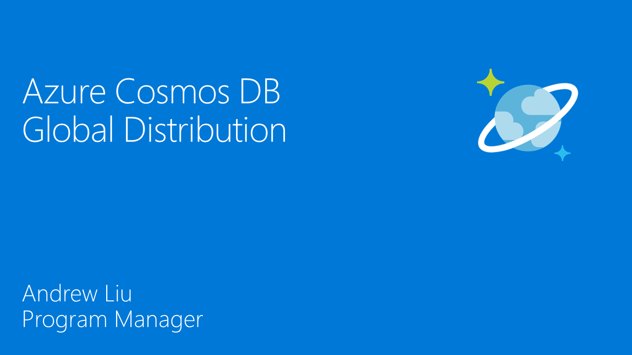 Azure Cosmos DB Global Distribution