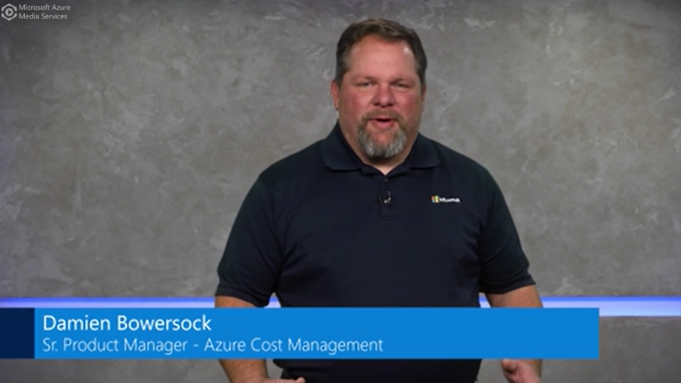 Azure Cost Management Overview and Demo