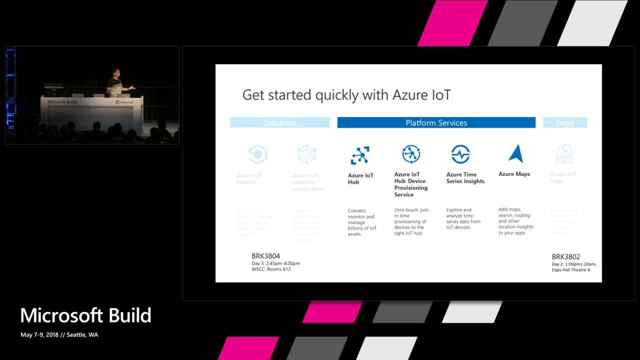 Azure IoT Platform services - The modern IoT developer toolbox