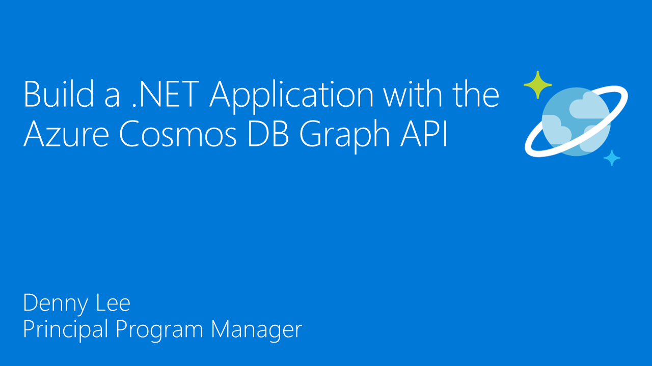 Create a graph with the Azure Cosmos DB Graph API